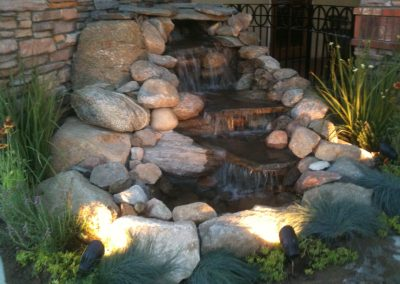 Maurico's Rosedale Water feature