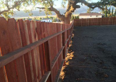 Redwood Fence Stallion Springs 6